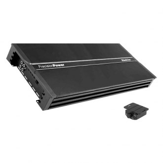 Precision Power® - Black Ice Series Class D Mono 5000W RMS Amplifier