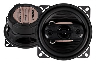 "Precision Power® - 4"" 4-Way Black Ice Series 80W Speakers"
