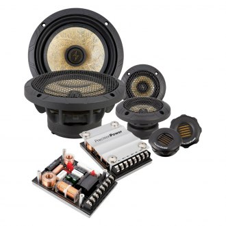 "Precision Power® - 6-1/2"" 3-Way Power Class Series 400W Component Speakers"