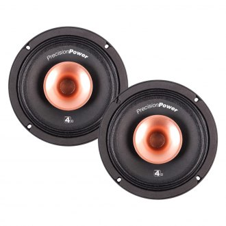 "Precision Power® - 6-1/2"" 2-Way Pro-Audio Series 225W Speakers"