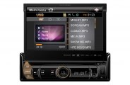 "Precision Power® - Single DIN Multimedia Source Unit with 7"" Flip-Up LCD"