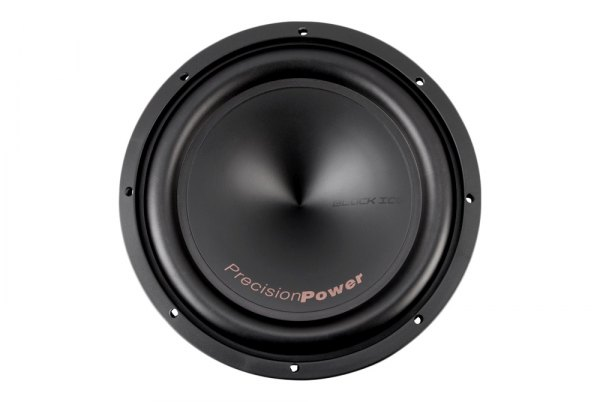 "Precision Power® - 12"" Black Ice Series 500W RMS 2Ohm DVC Subwoofer"