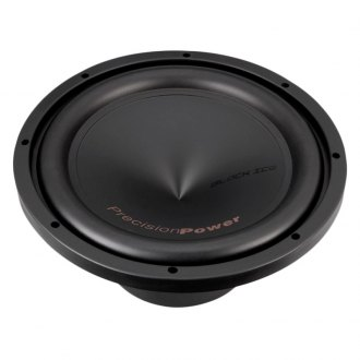 "Precision Power® - 12"" Black Ice Series 500W RMS 4 Ohm DVC Subwoofer"