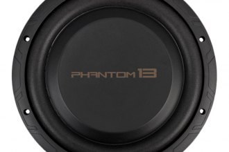 "Precision Power® - 13-1/4"" Phantom Series 200W RMS DVC Low Profile Subwoofer"