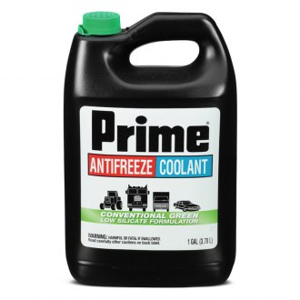 Prestone® - Prime™ Green Full Strength Silicate Antifreeze/Coolnat 1 Gallon