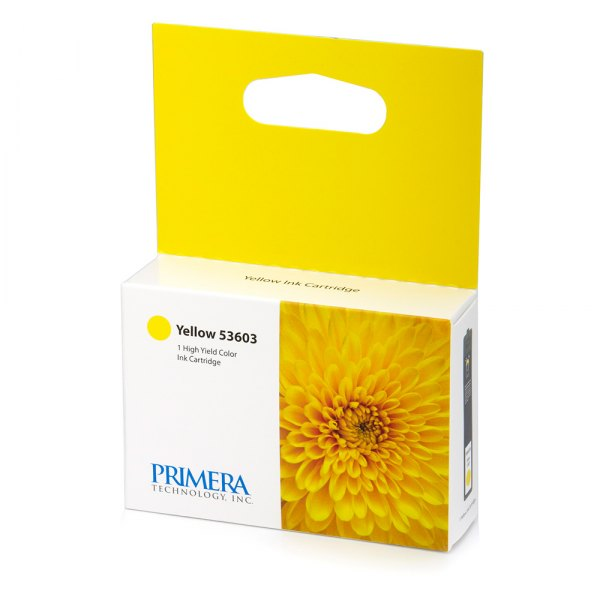 Primera Technology® - Yellow Ink Cartridge for Bravo 4100 Disc Publishers