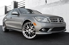 PRIVAT® - Wheels on Mercedes C Class