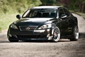 PRIVAT® - AKZENT Opal with Machined Lip on Lexus IS 250