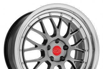 "PRIVAT® - AKZENT Opal with Machined Lip (18"" x 8.5"", +40 Offset, 5x114.3 Bolt Pattern, 73.1mm Hub)"