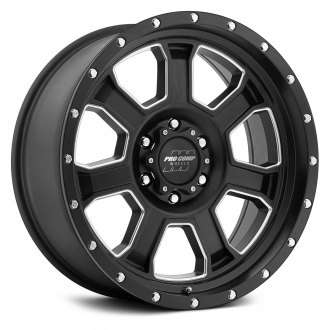 PRO COMP® - 43 SERIES SLEDGE Alloy Satin Black with Milled Accents