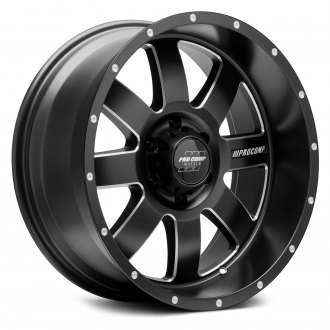 PRO COMP® - 73 SERIES Alloy Satin Black with Milled Accents