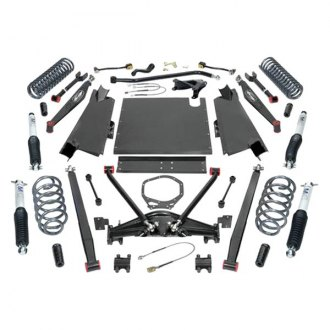 "Pro Comp® - 4"" Dual Sport Long Arm Stage 1 Front and Rear Complete Lift Kit"