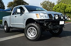 PRO COMP® - 29 Polished on Nissan Titan