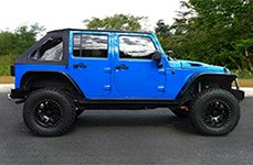 PRO COMP® - 36 Flat Black Wheels on Jeep Wrangler