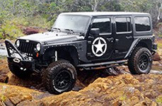 PRO COMP® - 36 Flat Black on Jeep Wrangler