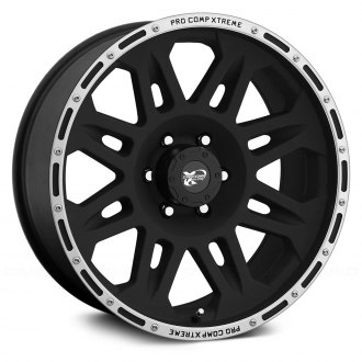 PRO COMP® - 05 SERIES Alloy Matte Black with Machined Flange