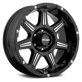 PRO COMP® - 51 SERIES DISTRICT Alloy Gloss Black with Machined Accents