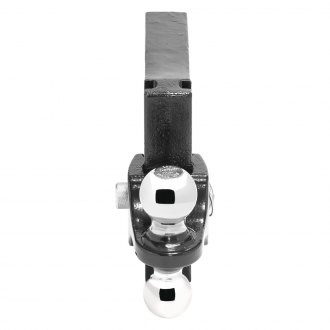 "Pro Series® - Class 5 Adjustable Black Dual Ball Mount for 2"" Receivers"