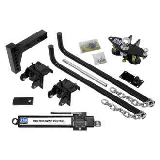 Pro Series® - Complete Round Bar Weight Distributing Kit (10000 lbs GTW / 1200 lbs TW)