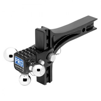 "Pro Series® - Class 5 Adjustable Triple Ball Mount System for 2"" Receivers"