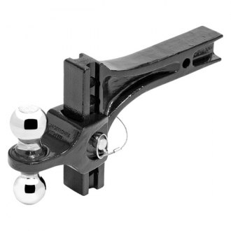 "Pro Series® - Class 5 Adjustable Dual Ball Mount System for 2"" Receivers"