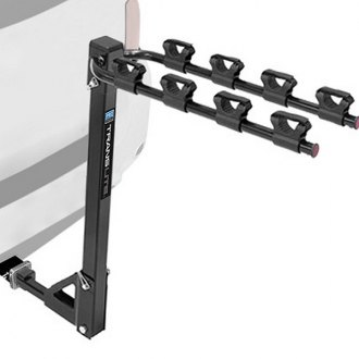 "Pro Series® - Translite™ Hitch Mount Bike Rack (4 Bike Fits 1-1/4"" Receivers)"