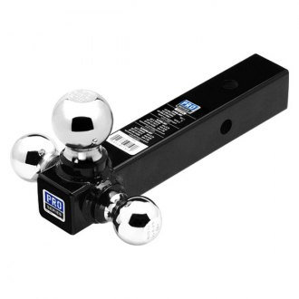 Pro Series® - Tri-Ball Ball Mount for 2 Receivers