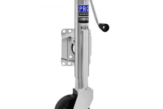 "Pro Series® - 6"" Swivel Poly Wheel Jack"