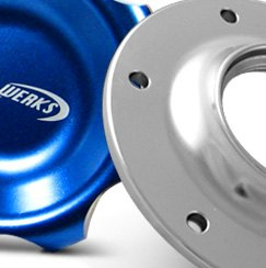 Pro Werks® - Blue Cap Assembly with Aluminum Fuel Cell Bung