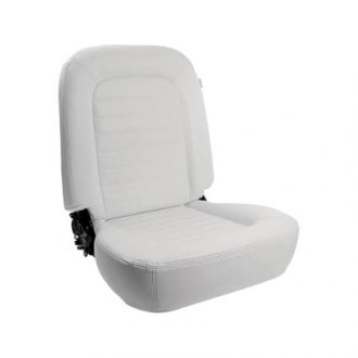 Procar® - Classic Low Back Series 1550 White Vinyl Right Seat