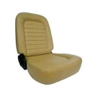 Procar® - Classic Low Back Series 1550 Beige Vinyl Right Seat