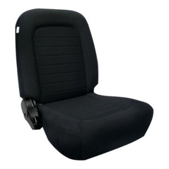 Procar® - Classic Low Back Series 1550 Black Velour Left Seat