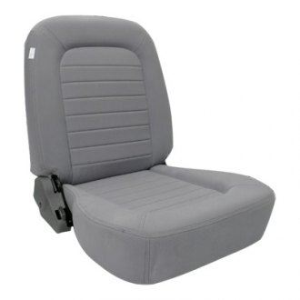 Procar® - Classic Low Back Series 1550 Gray Velour Left Seat