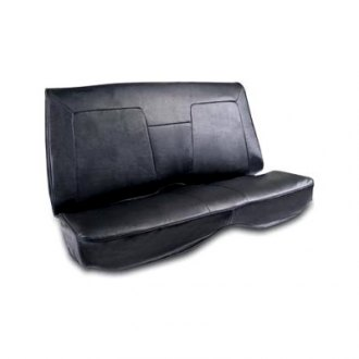 Procar® - Elite Style Black Leather Seat Cover