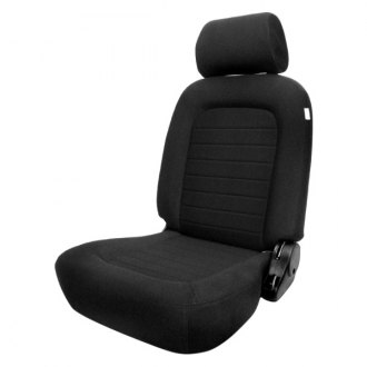 Procar® - Classic™ Driver Side Black Velour Sport Seat with Headrest