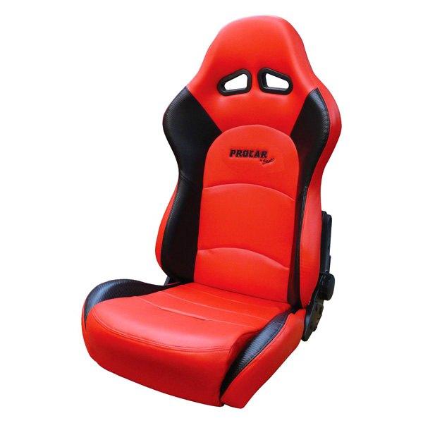 Procar® - Sportsman Pro XL™ Racing Seat Red Vinyl  sc 1 st  CARiD.com & Procar® - Sportsman Pro XL™ Racing Seat islam-shia.org