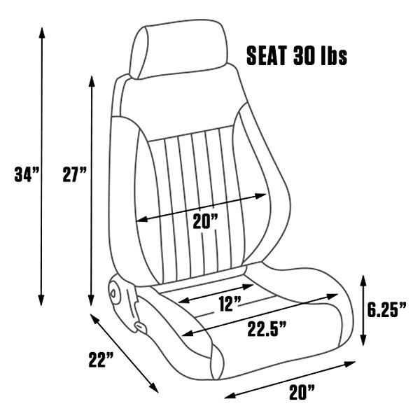Enjoyable Procar Elite Lumbar Dlx Seat Unemploymentrelief Wooden Chair Designs For Living Room Unemploymentrelieforg