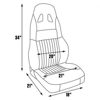 geo seats replacement racing bucket custom carid Lifted Geo Tracker Interior procar gt seat