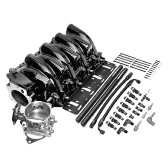 Professional Products® - Power+Plus Typhoon™ Black EFI Intake Manifold