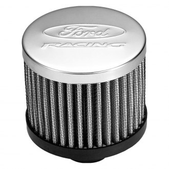 Proform® - Officially Licensed Ford Chrome Push-In Breather Cap with Ford Logo