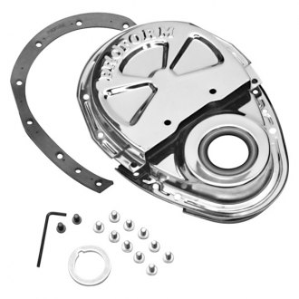 Proform® - Chrome Two-Piece Style Timing Cover