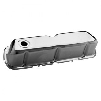 Proform® - Chrome Stock Style Stamped Steel Valve Cover without Logo