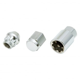 Project Kics® - Standard Bull Chrome Cone Seat Open End Wheel Locks
