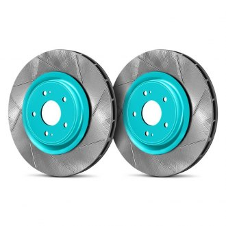 Project Mu® - Club Racer Series Slotted Vented Front Brake Rotors