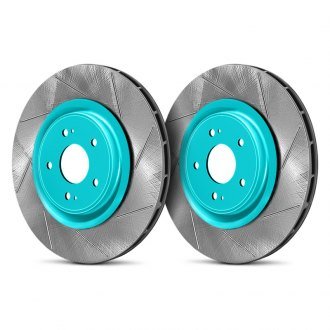 Project Mu® - Club Racer Series Performance Slotted Brake Rotors