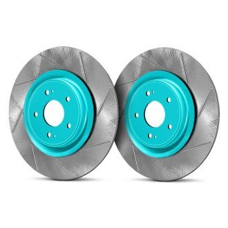 Project Mu® - Club Racer Series Slotted Vented Rear Brake Rotors