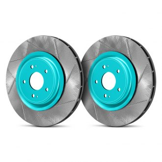 Project Mu® - Club Racer Series Front Performance Brake Slotted Rotors