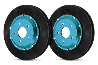 Project Mu® - SCR-Pro Front Performance Brake Slotted Rotors