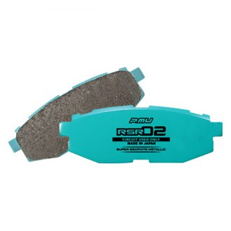 Project Mu® - RSR 02 Series Rear Performance Brake Pads