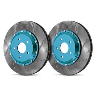 Project Mu® - SCR-Pro Slotted Vented Rear Brake Rotors